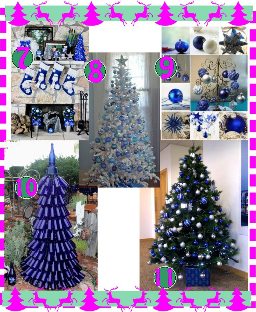 Christmas Tree Blue arvore de natal azul-4