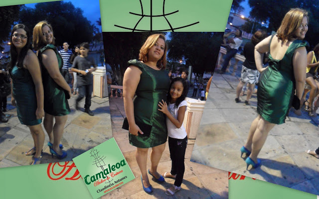 Vestido Verde Formanda Renata