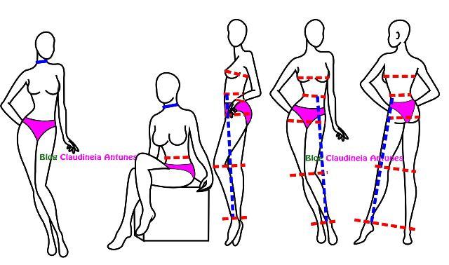 Como Tirar as Medidas do Corpo Feminino