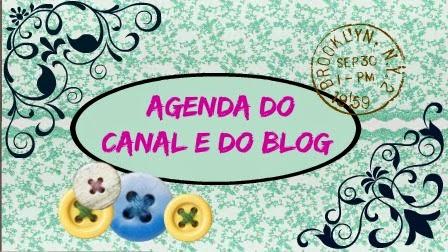 Agenda do Canal e do Blog