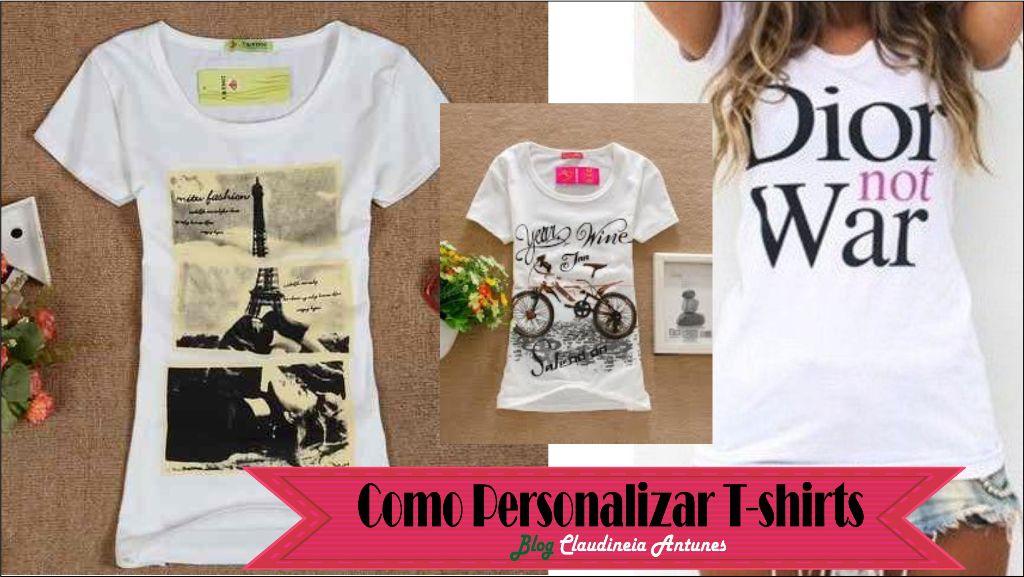 Como Fazer T-shirt Personalizada usando sua Impressora