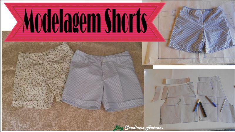 Como Fazer Shorts Aula de Modelagem