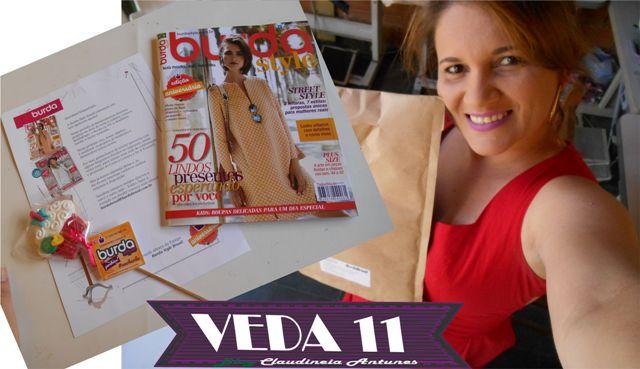 Vamos Comemorar 1º Aniversario Da Burda Style no Brasil #VEDA11