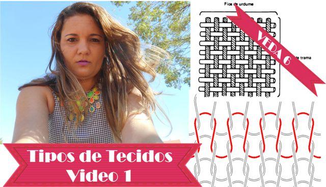 Tipos de Tecidos- Fibras e Tramas #VEDA6