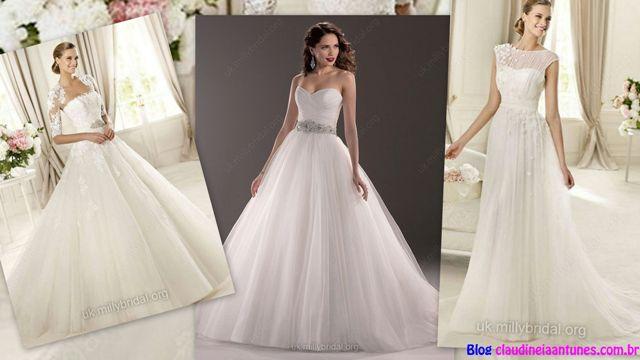 Wedding dresses uk vestidos de noiva 1 vestidos de noiva com tule wedding dresses with tulle junglespirit Images