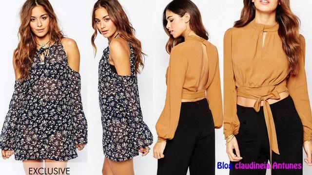 766ad52e0d 90 Modelos de Blusas Femininas que esta na Moda