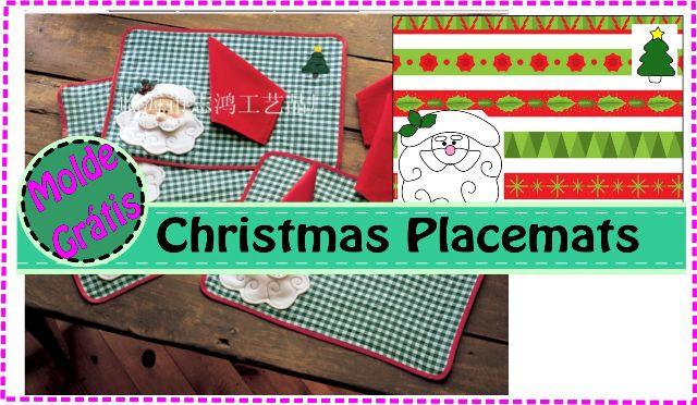 Christmas Placemats – Jogo Americano Para Ceia de Natal