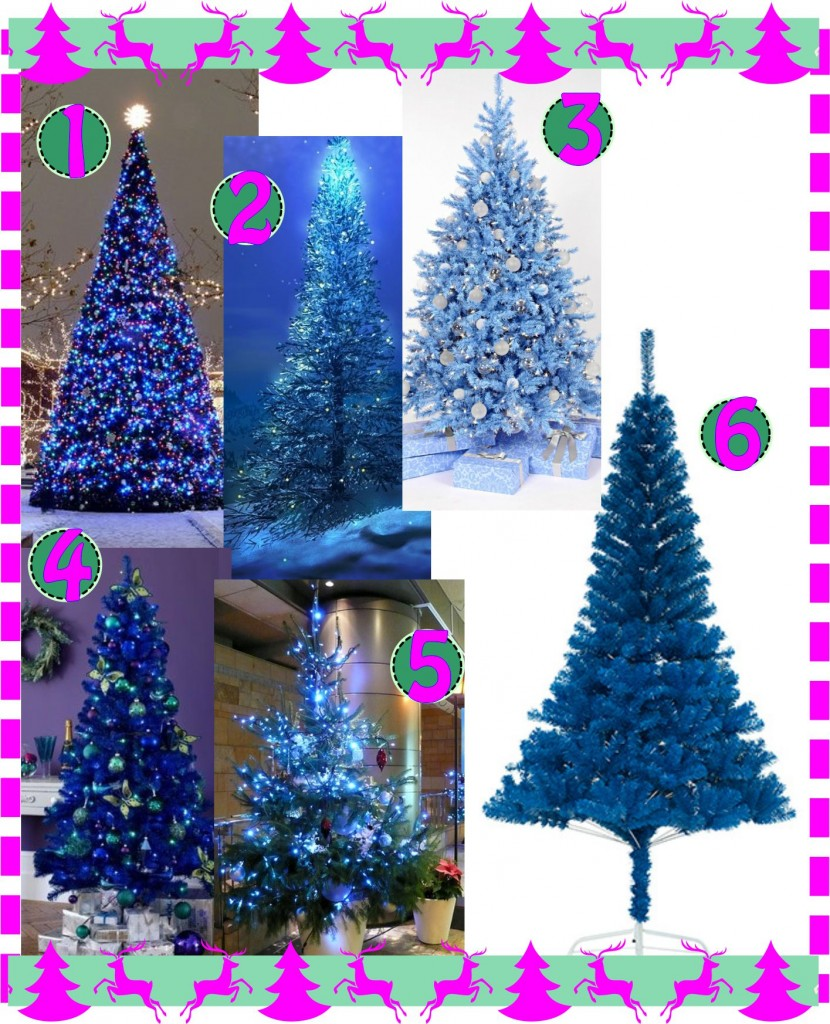 Christmas Tree Blue