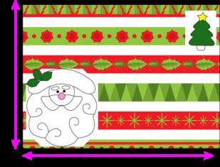 Christmas Placemats - Jogo Americano