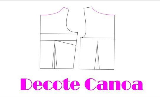 Modelagem Decote Canoa – Aula Gratis