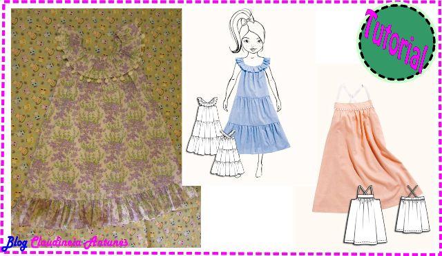 Como Fazer Vestido Infantil