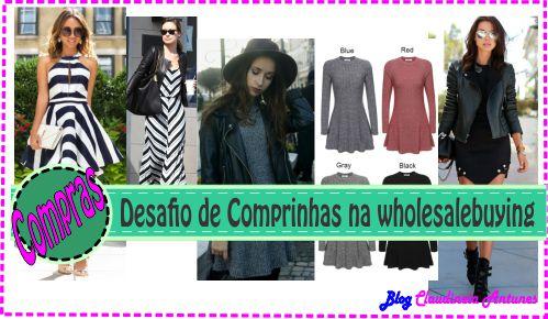 Desafio de Comprinhas na wholesalebuying – Jaqueta Couro