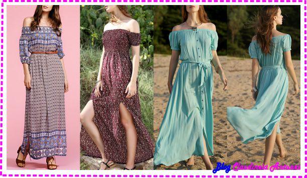 modelos-de-vestidos-logos-casual-decote-ciganinha
