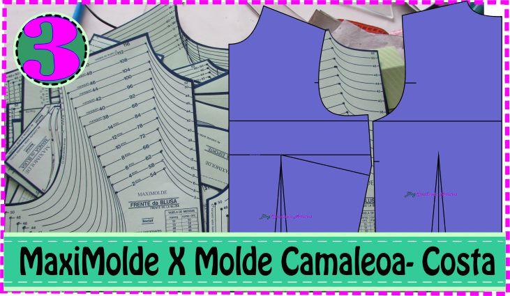 Molde Costa e Finalização Molde Blusa – MaxiMolde X Camaleoa #3