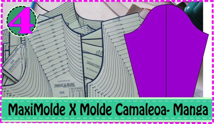 Molde Manga Longa e Curta – MaxiMolde X Camaleoa #4