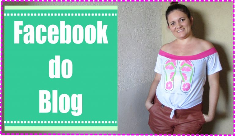 Facebook do Blog Claudineia Antunes e do Curso Crochê com Clau