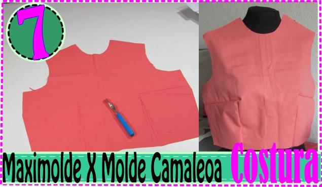 Dicas de Costura- Unindo Frente e Costa Blusa – MaxiMolde X Camaleoa #7