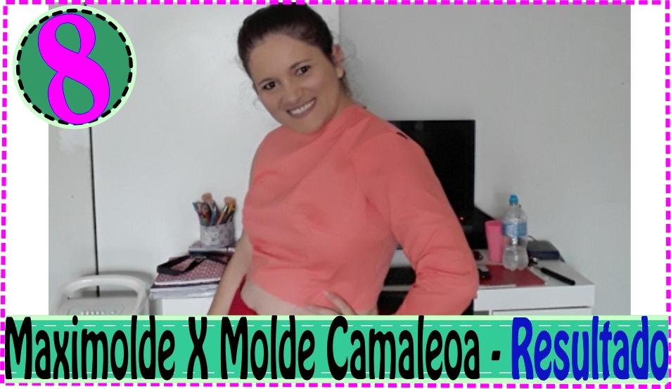 Dicas e Testando Modelagem Blusa Camaleoa  – MaxiMolde X Camaleoa #8
