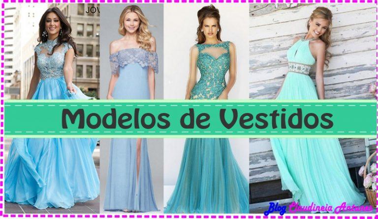 Nem Só de Azul Bic Vivem os Vestidos de Festa- Blue Prom Dress