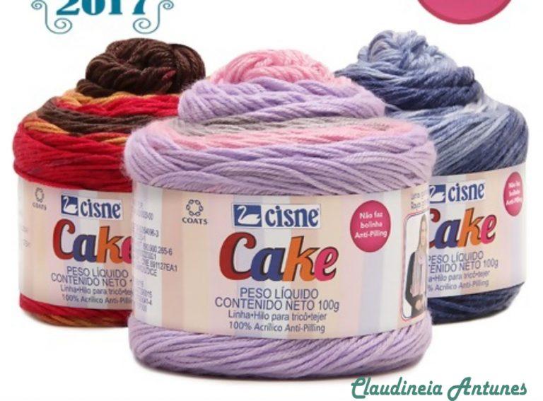 Fio de Inverno-Comparando Cisne Cake X Cupcake X Cupcare Maxi Tye Dye