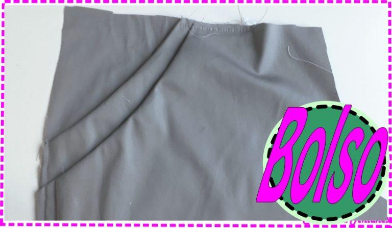 Bolso Duplo para Saia, Vestido, Calça  e Shorts -Modelagem, Corte e Costura