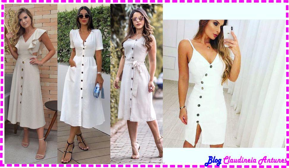 Modelos de Vestido de Linho
