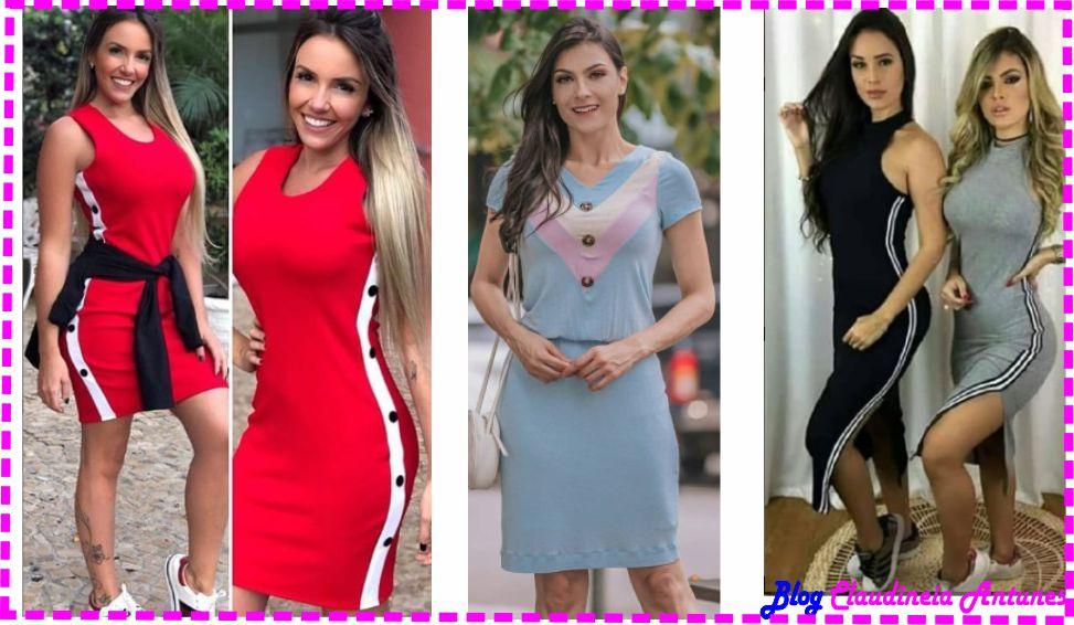 Modelos de Vestidos em Malha