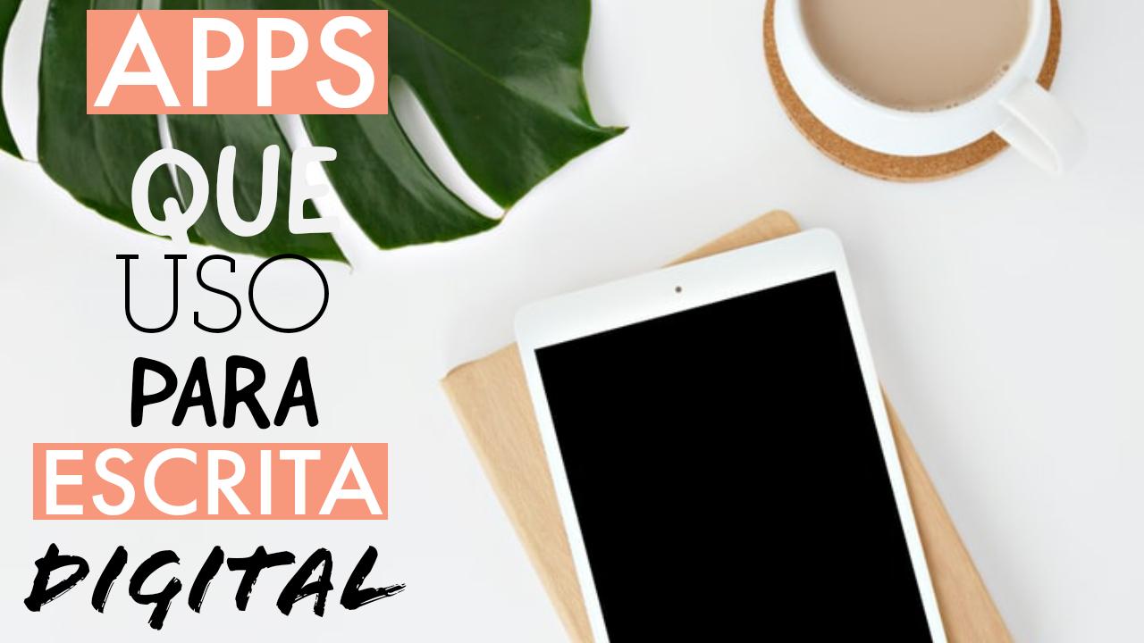 APPs de Escrita que Uso no Tablet S3 para Estudo, Trabalho e Organização